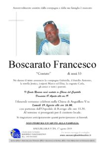 BOSCARATO FRANCESCO
